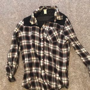 Lace and checkered flannel!!!